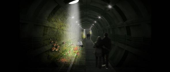 Földalatti – Alagutakban építenének közparkot Londonban