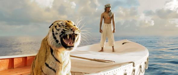 Zöld minősítést kapott Ang Lee új filmje, a Pi élete