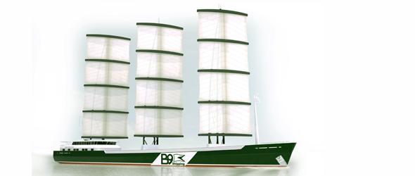 Vitorlás teherhajók építésével kísérleteznek
