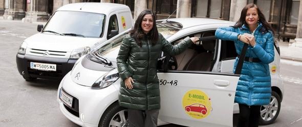 Elektromos autókkal dolgoznak a Bécsi Városházán