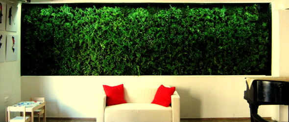 Zöldfal – A jövő építészete napjainkban