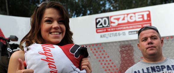 Olimpikon és tavalyi X-Faktorosok együtt kupakoltak a Szigeten