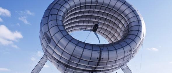 Altaeros Energies - Légi szélturbinával hódítják meg a szeleket