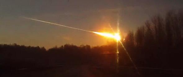 Meteor hullott Oroszországra!
