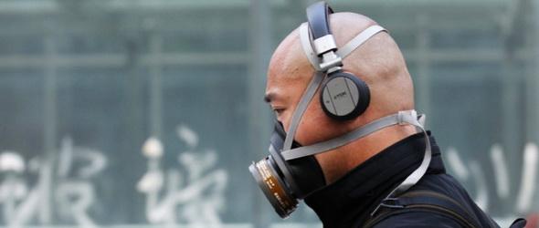 Újra fojtó, sűrű szmog nehezíti Peking lakóinak életét