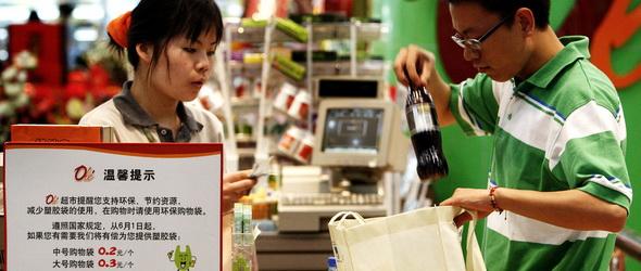Öt éve tilos a nejlonzacskó Kínában – Itt az eredmény!