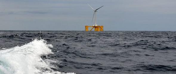 Fukusimánál üzemelték be a világ első úszó szélerőműparkjának első elemét