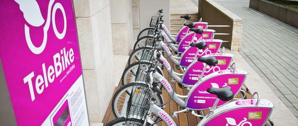 Ingyenes biciklikölcsönzőt nyit a Telekom a dolgozóinak