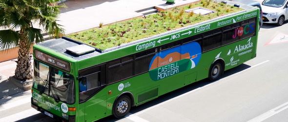 Helykihasználás – Buszok tetejére telepítenek kerteket
