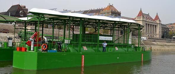 Magyar innovációval gyűjtik a szennyezőanyagokat a Dunán